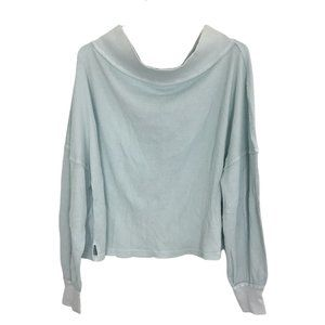 Free People Close To You Thermal Top Off Shoulder